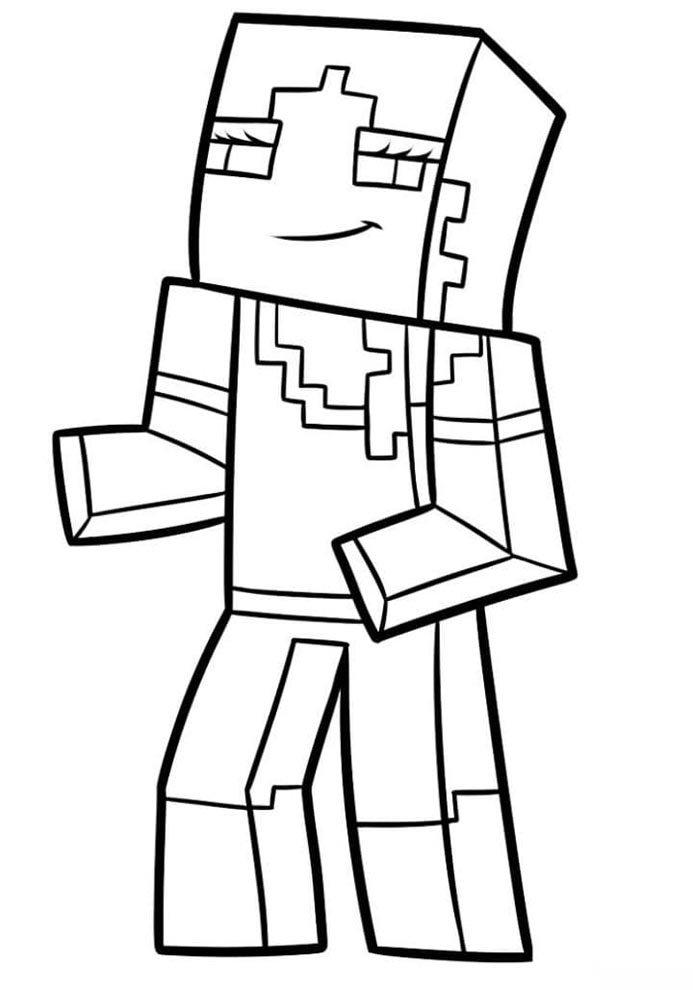 colorir minecraft