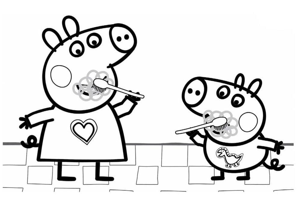 desenho da peppa pig para imprimir