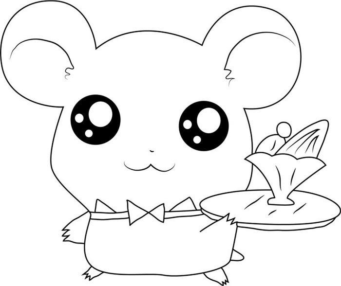desenho kawaii de animal