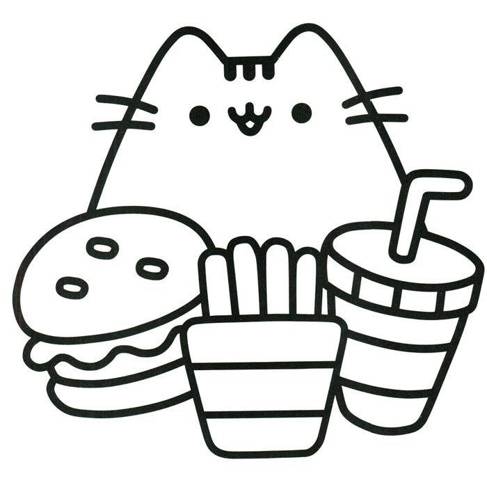desenho kawaii de comidas fofas