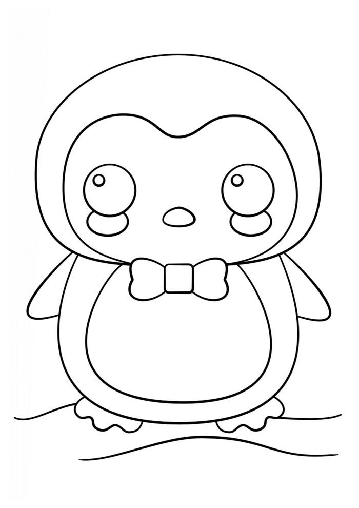 desenho kawaii para colorir 10