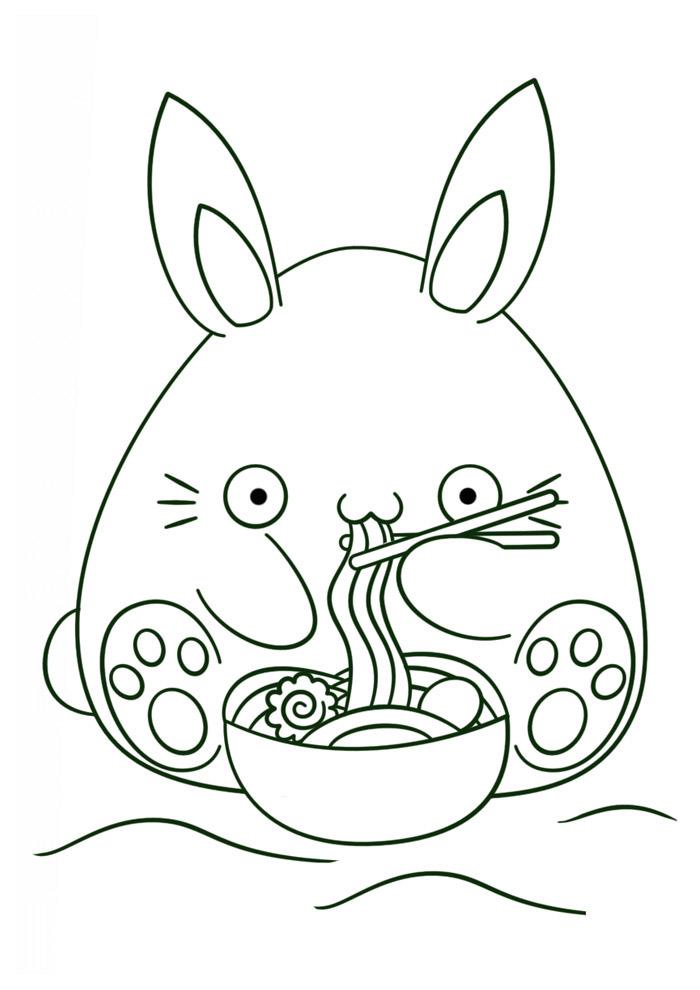 desenho kawaii para colorir 11