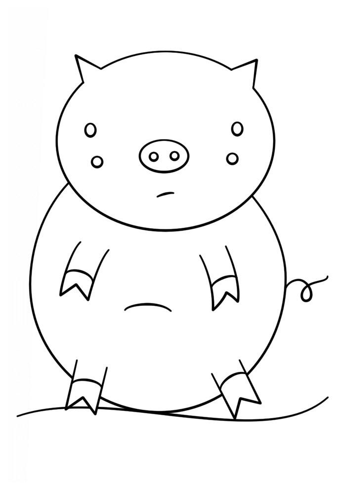 desenho kawaii para colorir 2