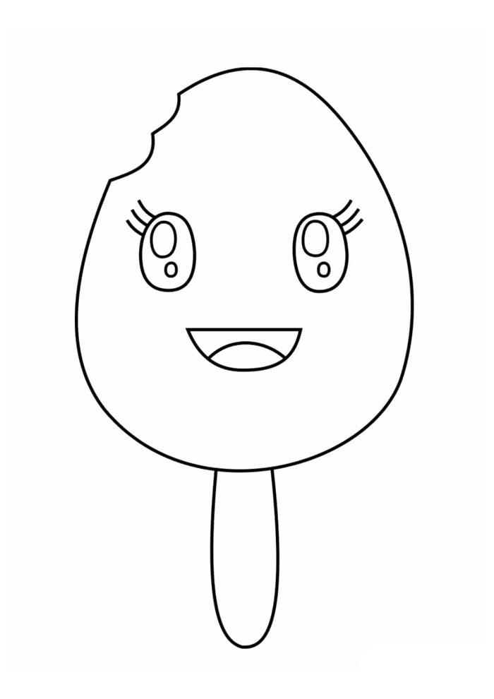 desenho kawaii para colorir 20