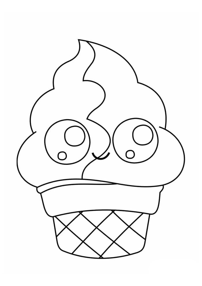 desenho kawaii para colorir 21