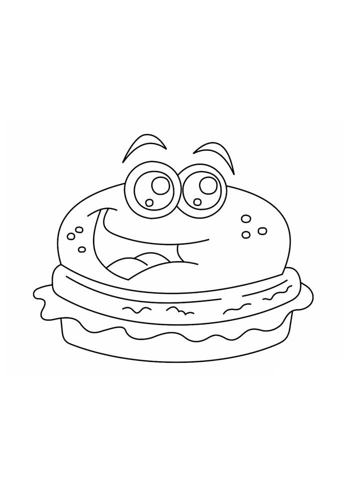 desenho kawaii para colorir 25