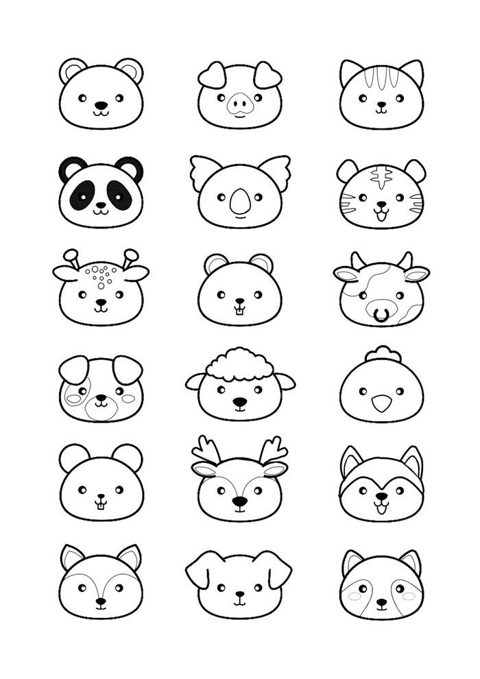 desenho kawaii para colorir 31