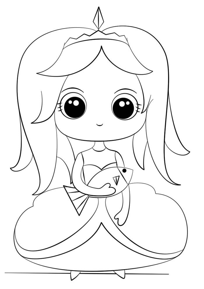 desenho kawaii para colorir 7