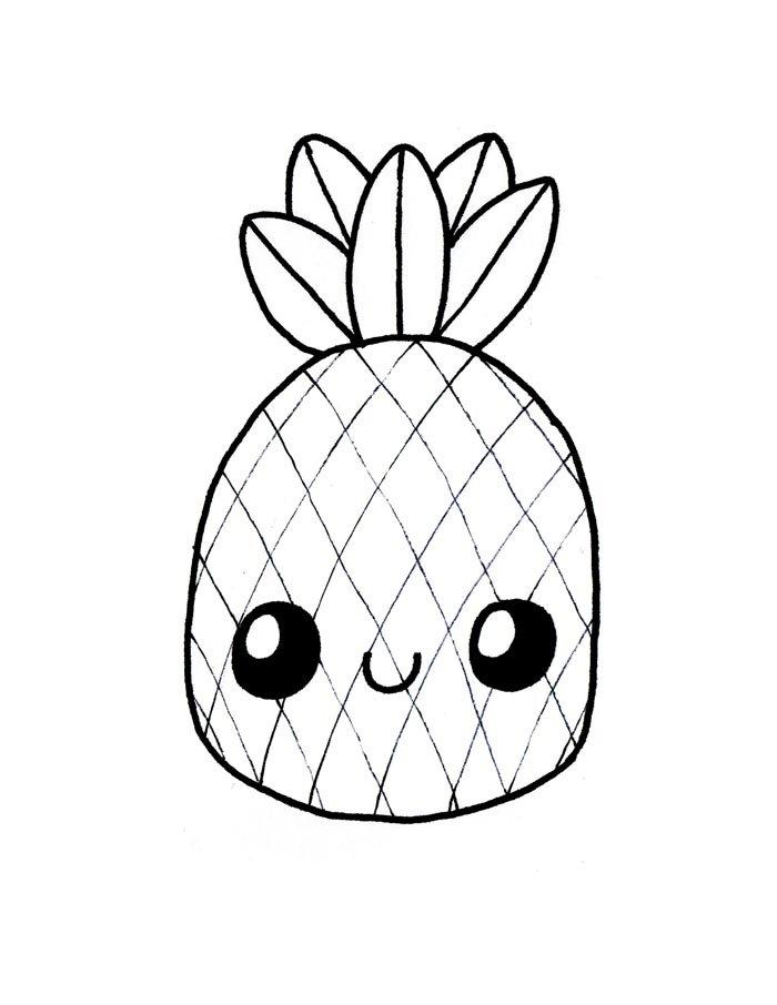 desenho kawaii para imprimir