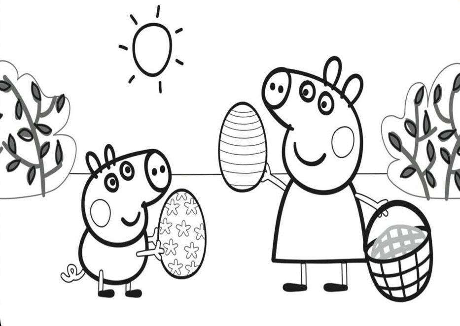 Desenhos Para Colorir Desenhos Da Peppa Pig Para Colorir