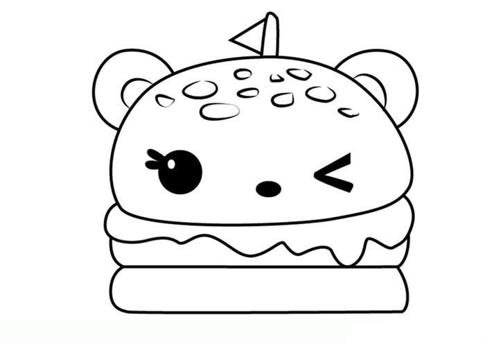 desenho para imprimir kawaii