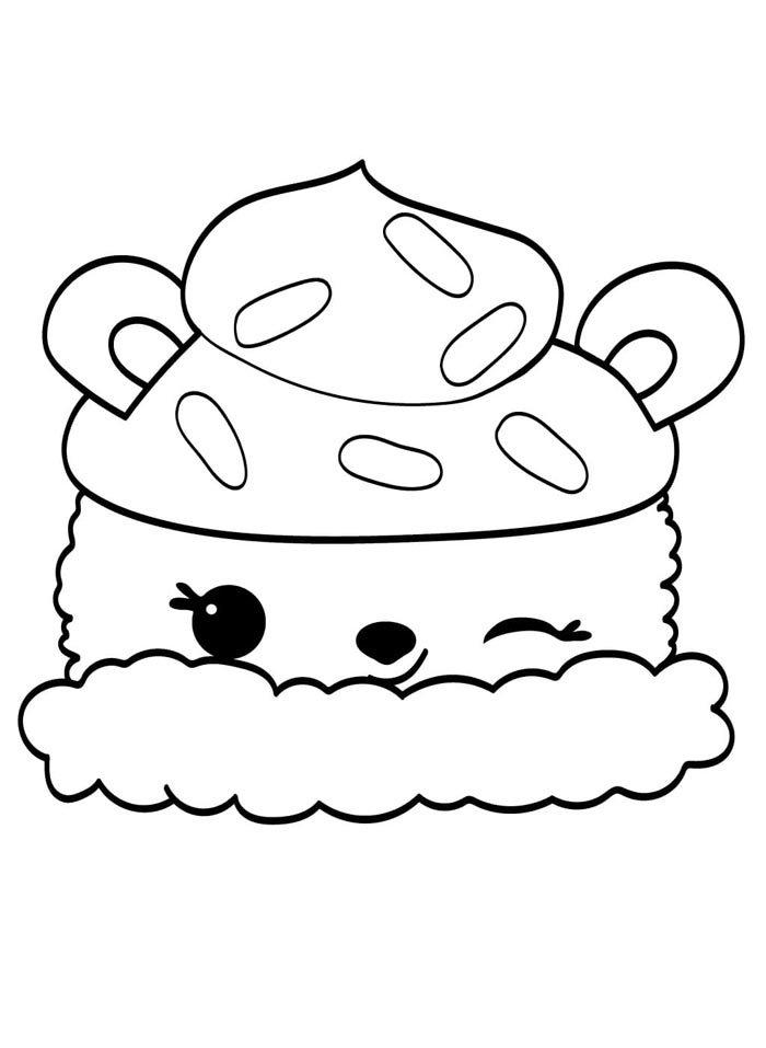 desenho para pintar kawaii
