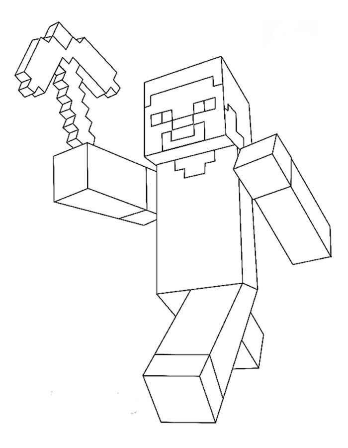 desenhos do minecraft para imprimir