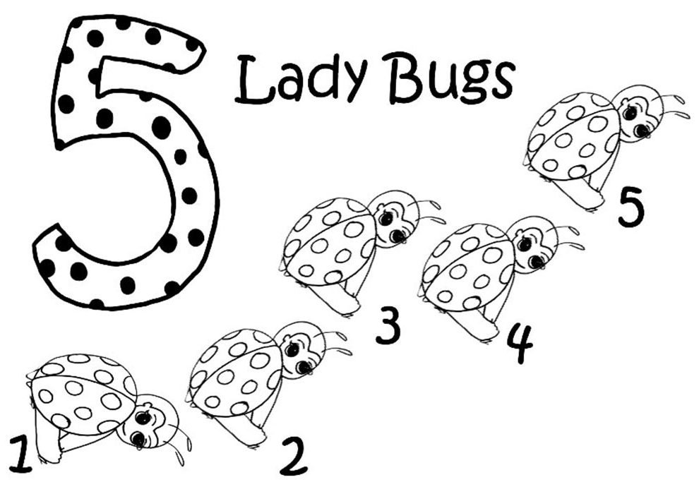 desenhos ladybugs para colorir