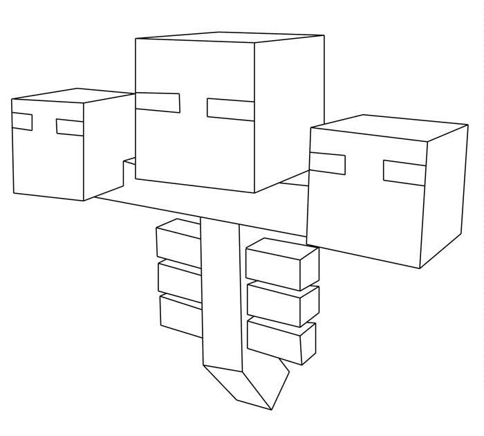 desenhos para colorir e imprimir minecraft