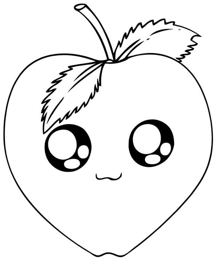 desenhos para colorir kawaii