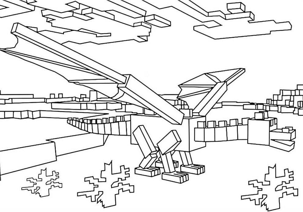 desenhos para imprimir de minecraft