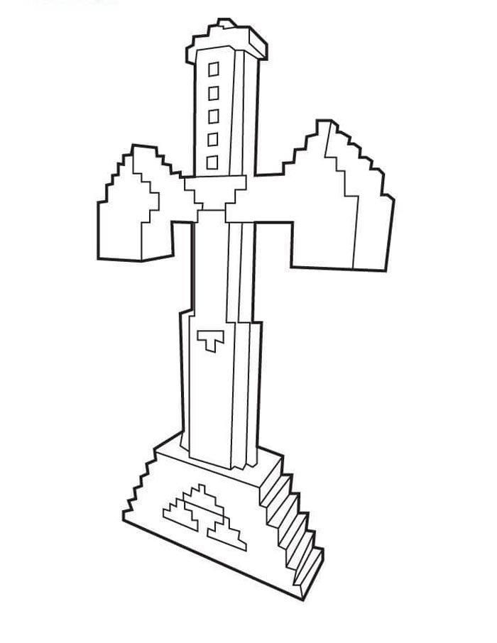 desenhos para imprimir do minecraft