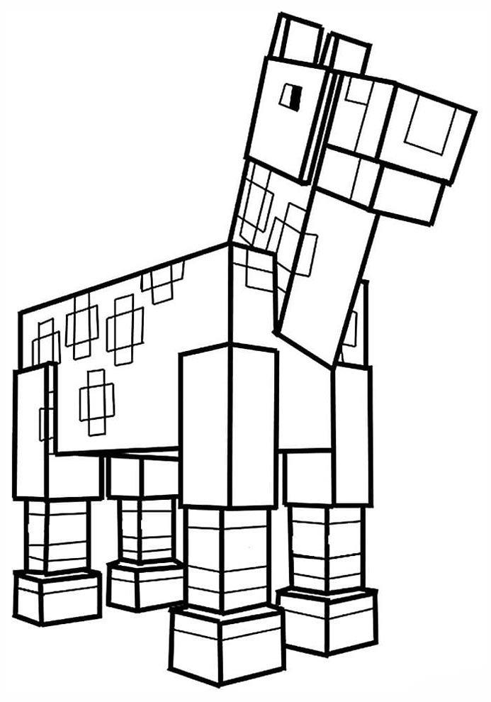 desenhos para imprimir minecraft