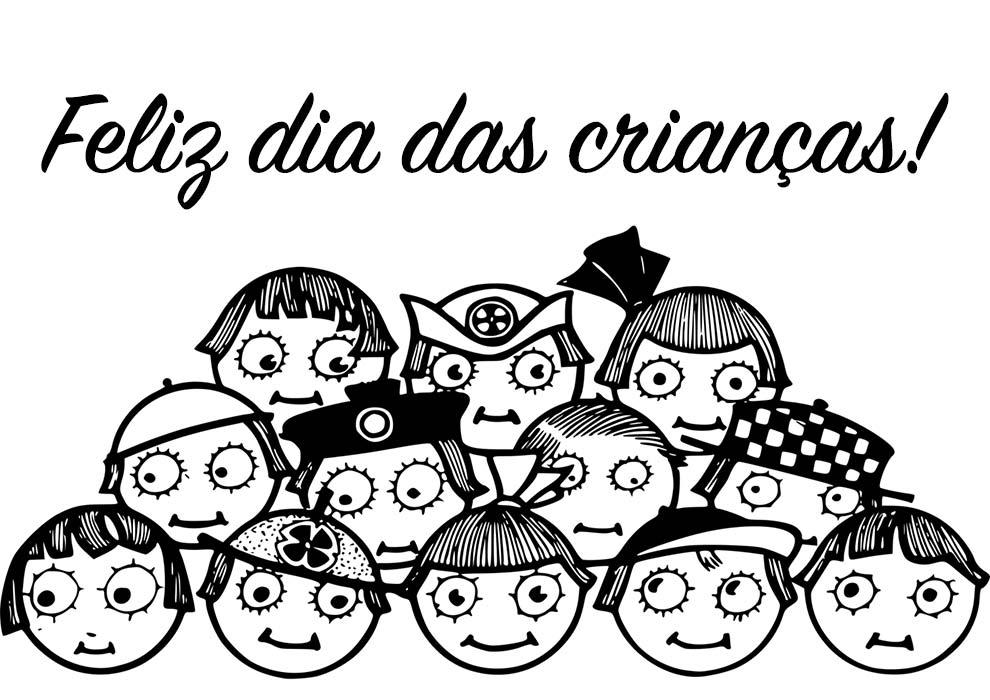 dia das crianças desenho
