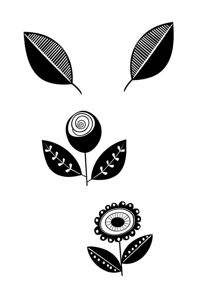flor girasol com olho grego para colorir