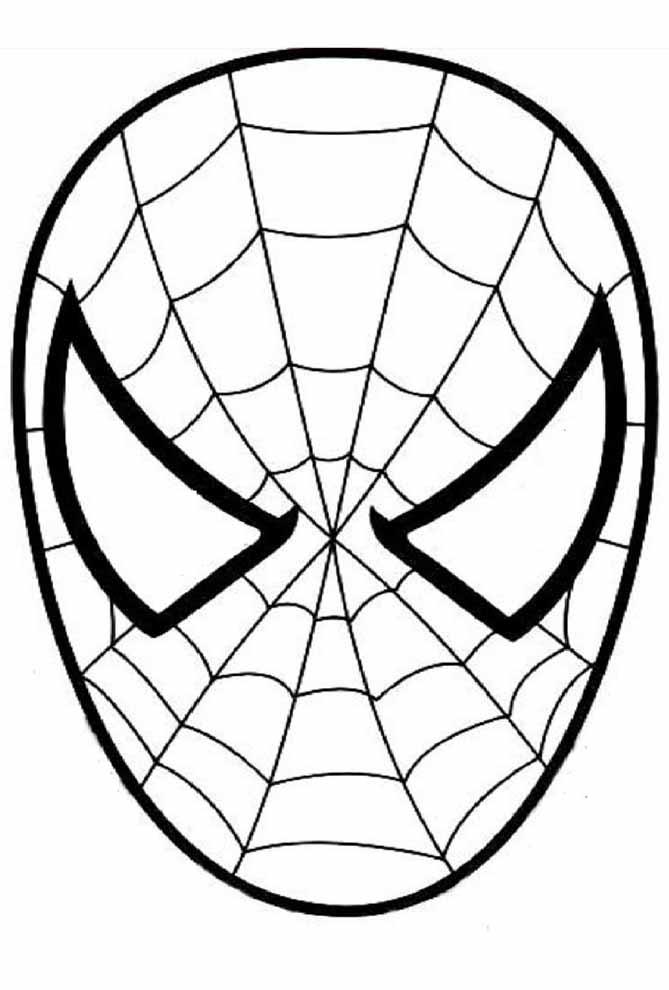 homem aranha colorir