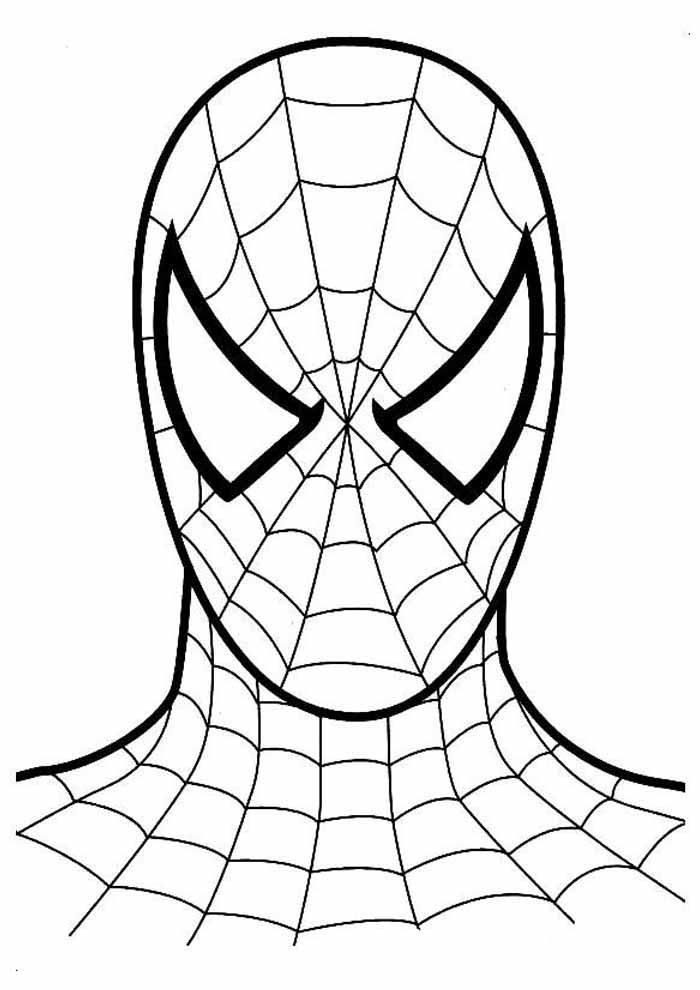 homem aranha para colorir 1