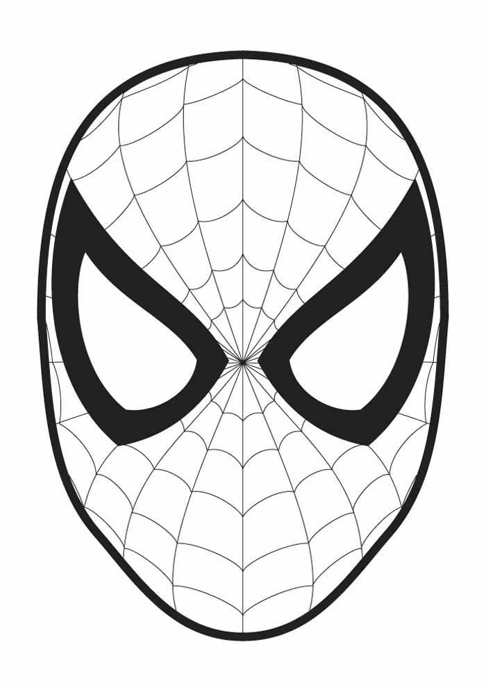 homem aranha para colorir 16