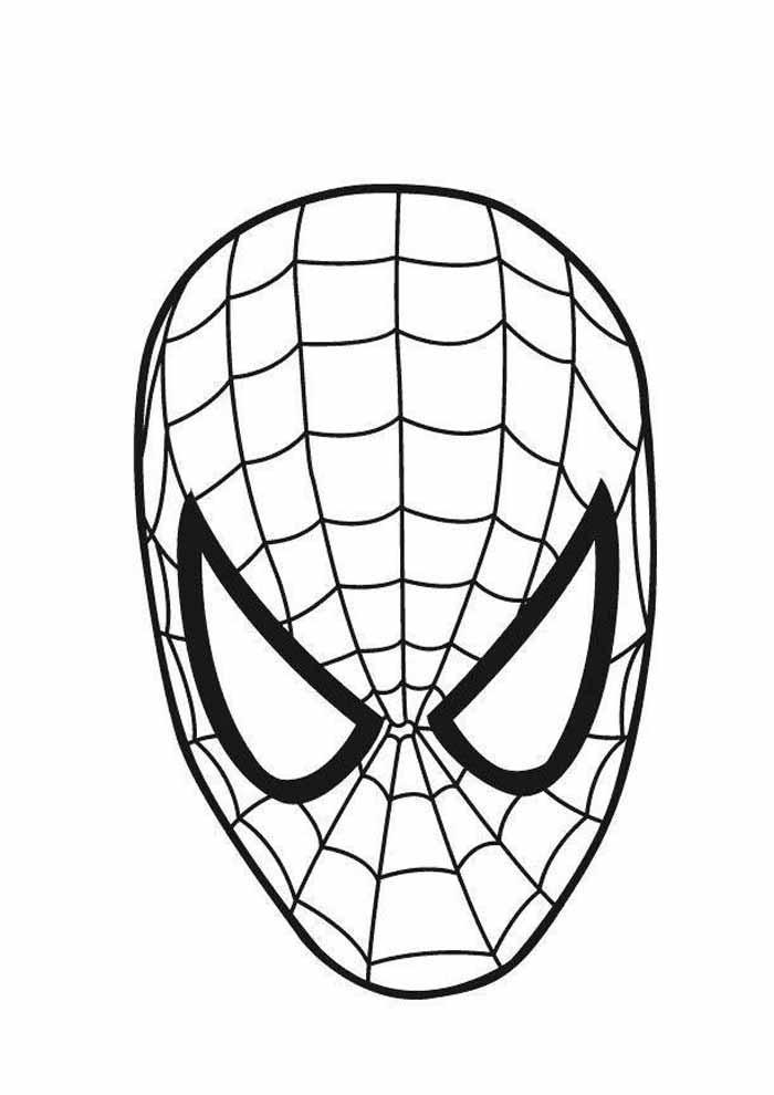 homem aranha para colorir 17
