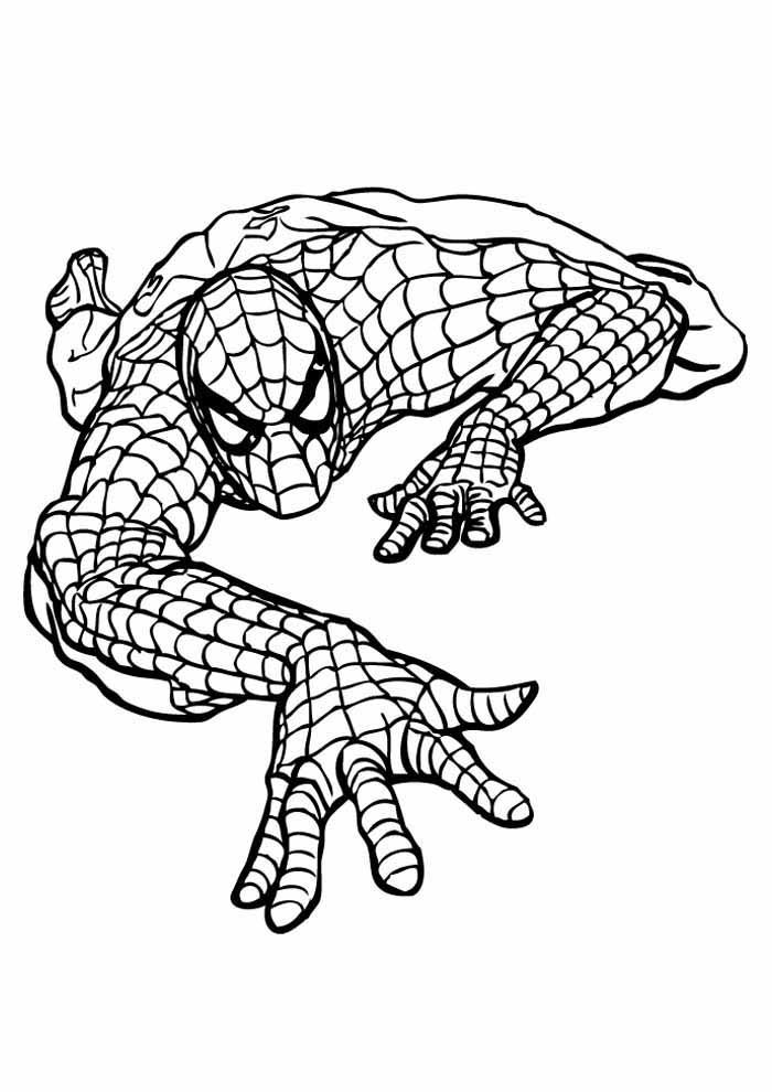 homem aranha para colorir 31