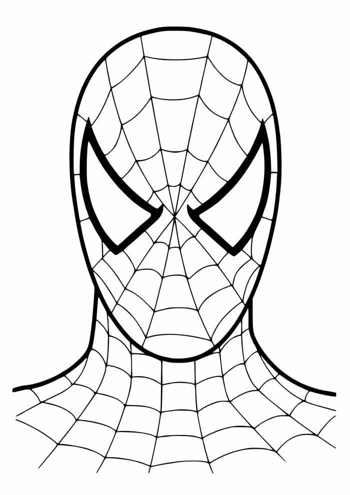 homem aranha para colorir 42