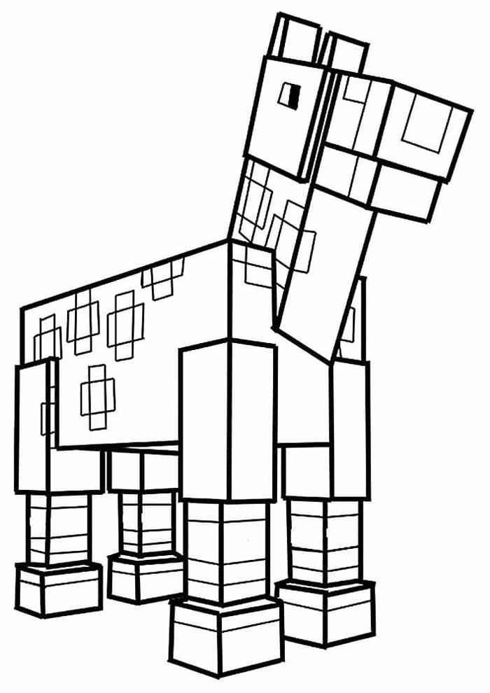 minecraft para colorir 22