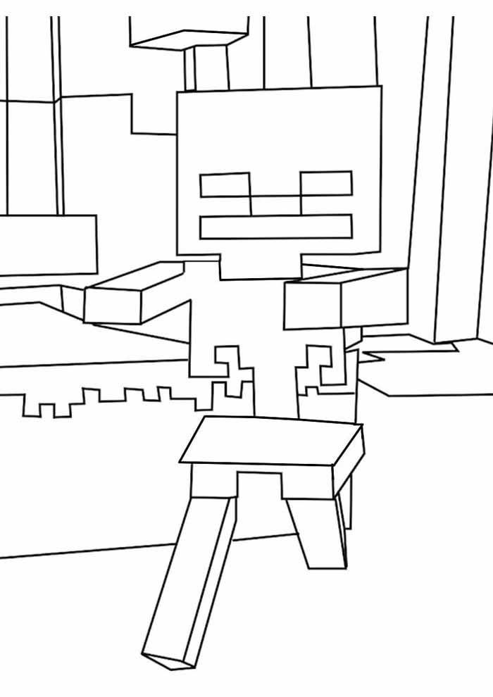 minecraft para colorir 24