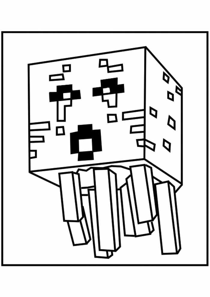 minecraft para colorir 44