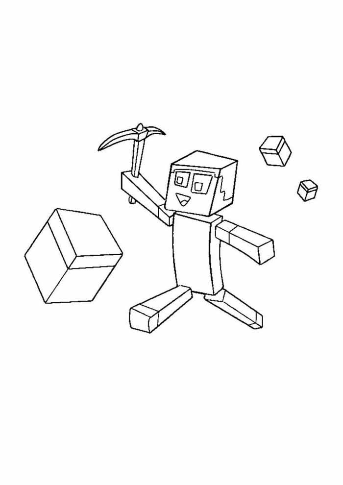 minecraft para colorir 63