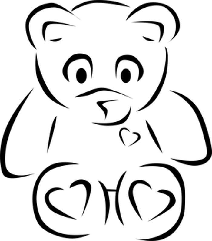 teddy urso colorir