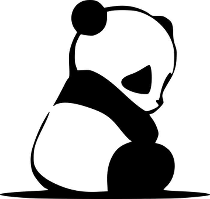 urso panda bebe