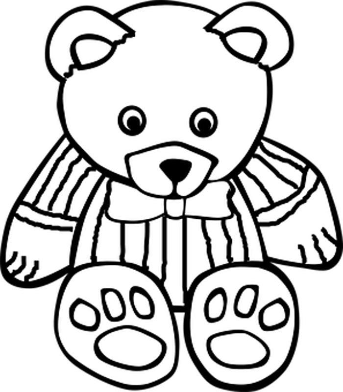 urso teddy de gravata
