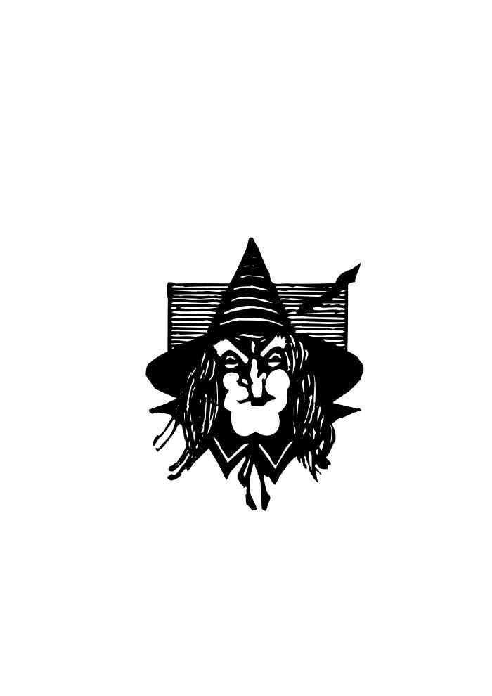 cabeça bruxa