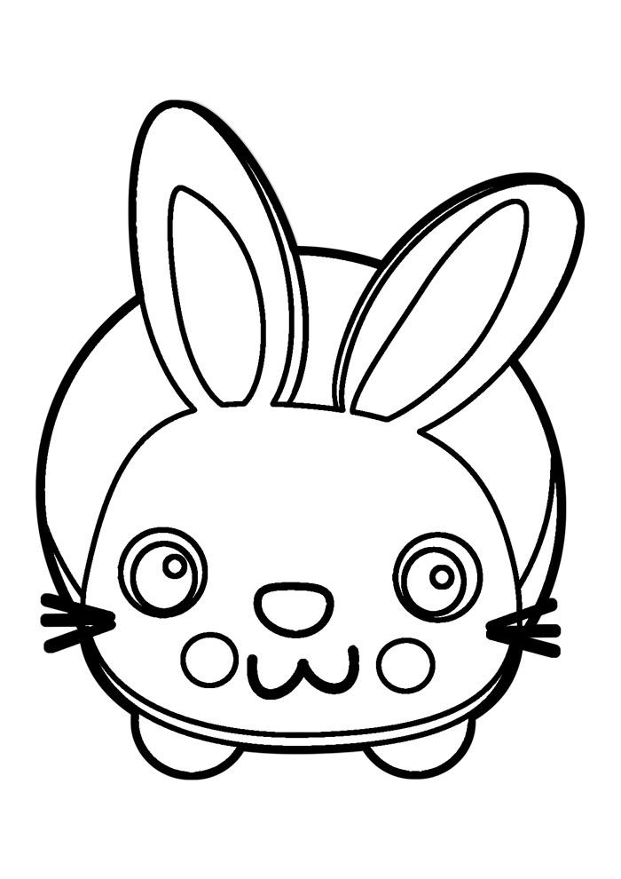 coelho para colorir 10