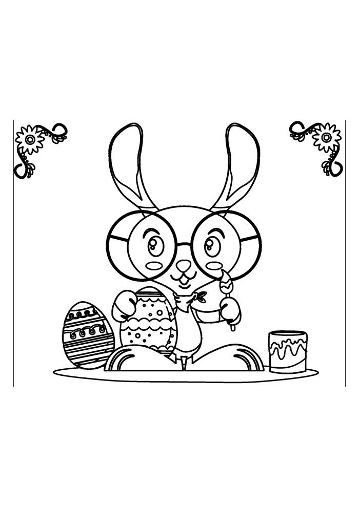 coelho para colorir 30