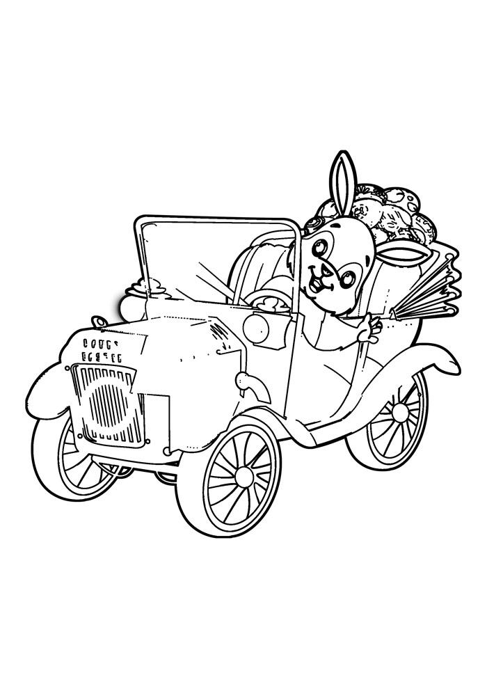 coelho para colorir 31