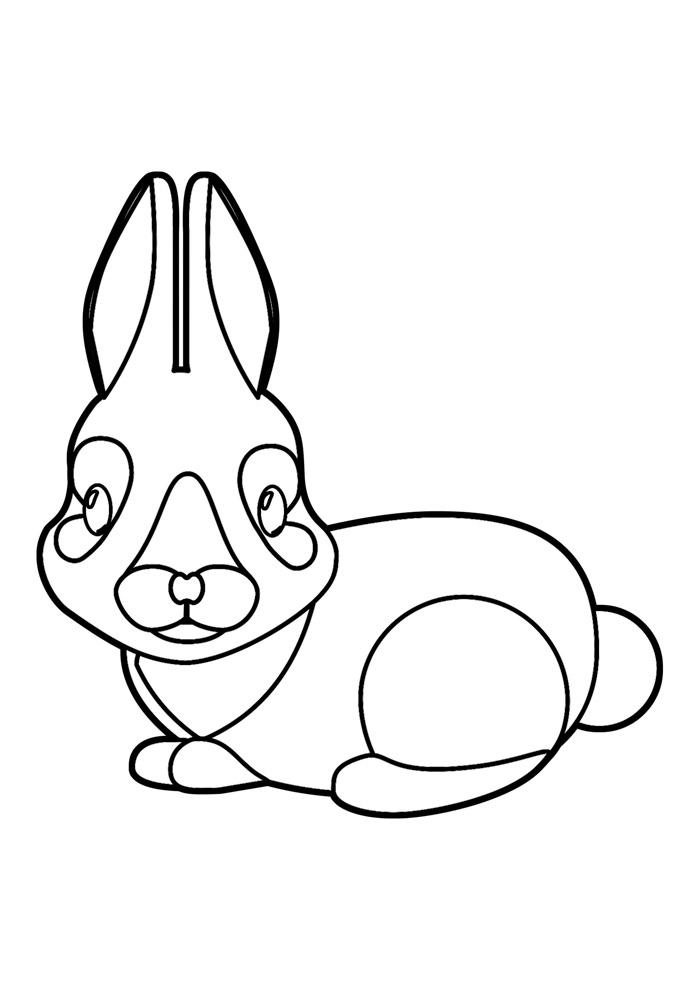 coelho para colorir 32