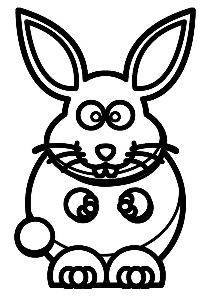 coelho para colorir 7