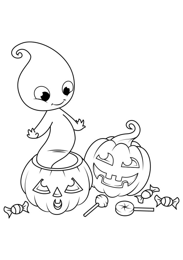 halloween para colorir 10