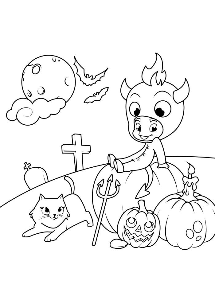 halloween para colorir 13