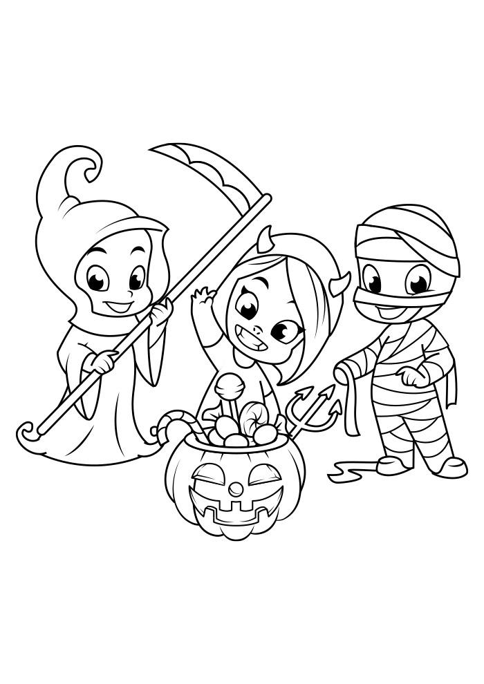 halloween para colorir 15