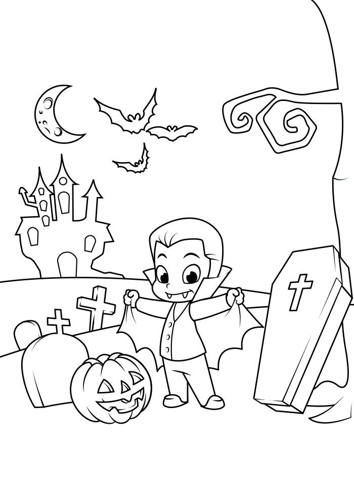 halloween para colorir 18