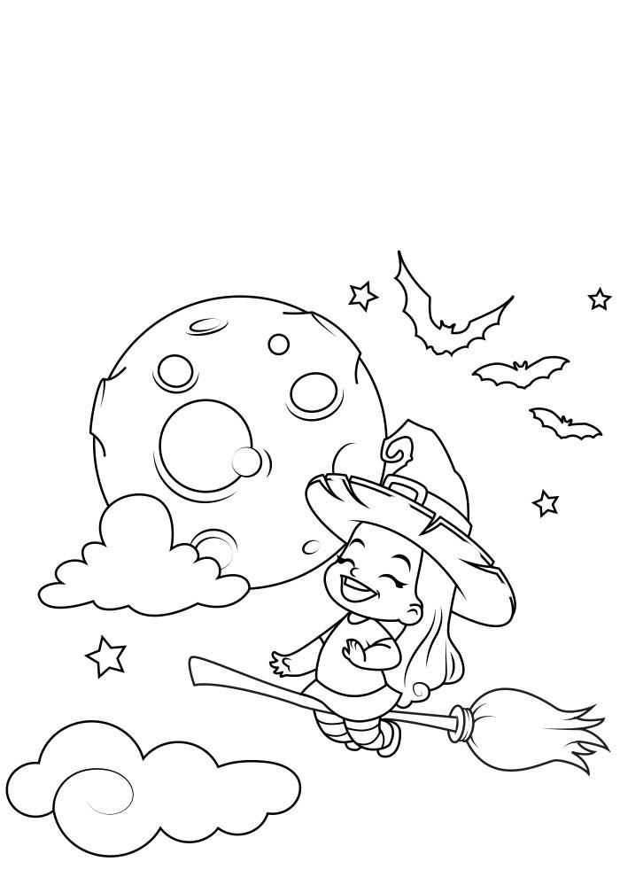 halloween para colorir 3
