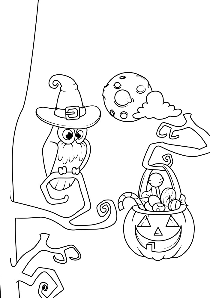 halloween para colorir 5